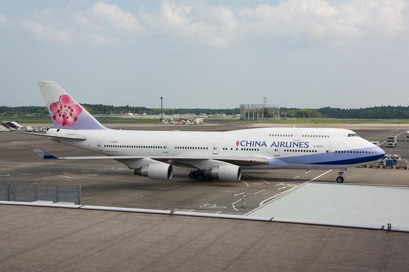 チャイナエアラインのB747-400