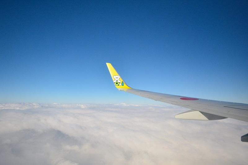AIR DOのB737-700からの機窓
