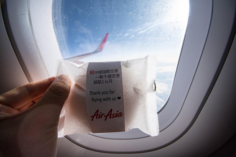 エアアジア・ジャパンのA320からの機窓