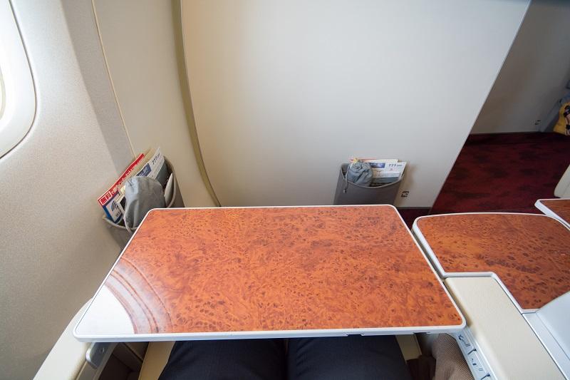 大きな面積のテーブル