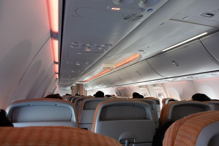 BSI仕様の機内の様子