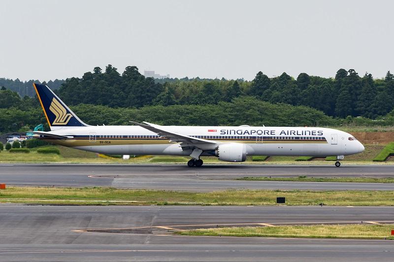 シンガポール航空のB787-10型機