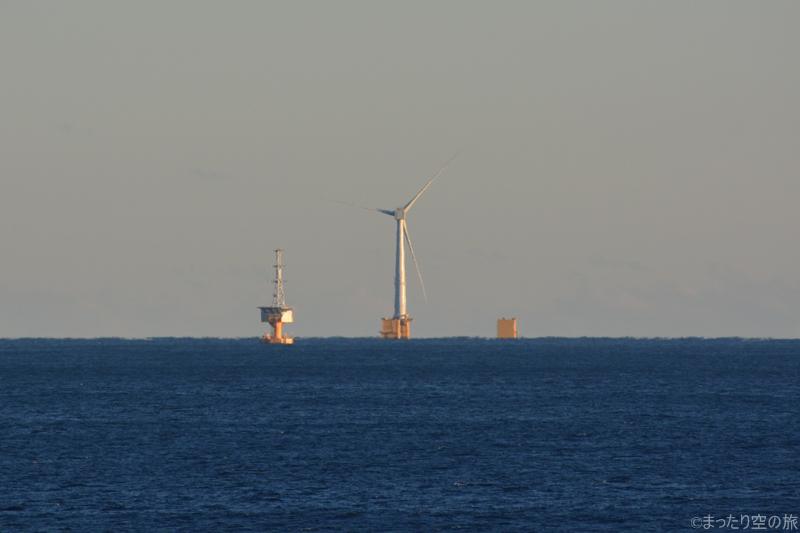 浮体式洋上風力発電設備