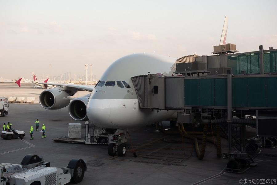 今回の搭乗機のA380-800型機