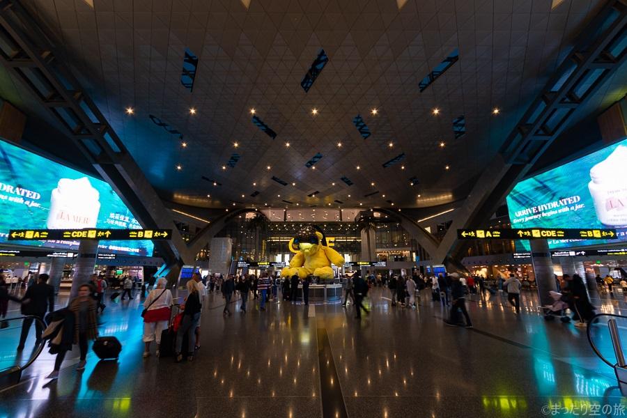 ハマド国際空港の内部