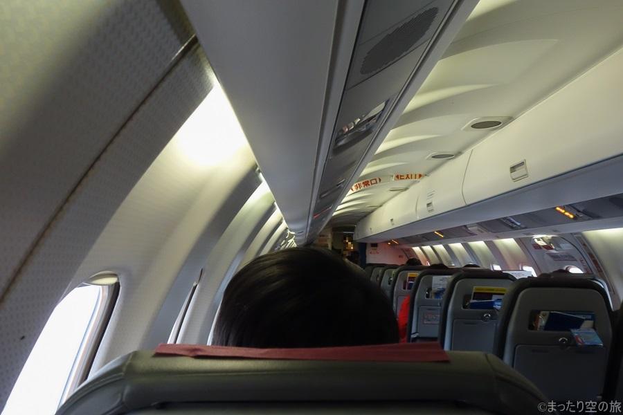 SAABの機内の様子