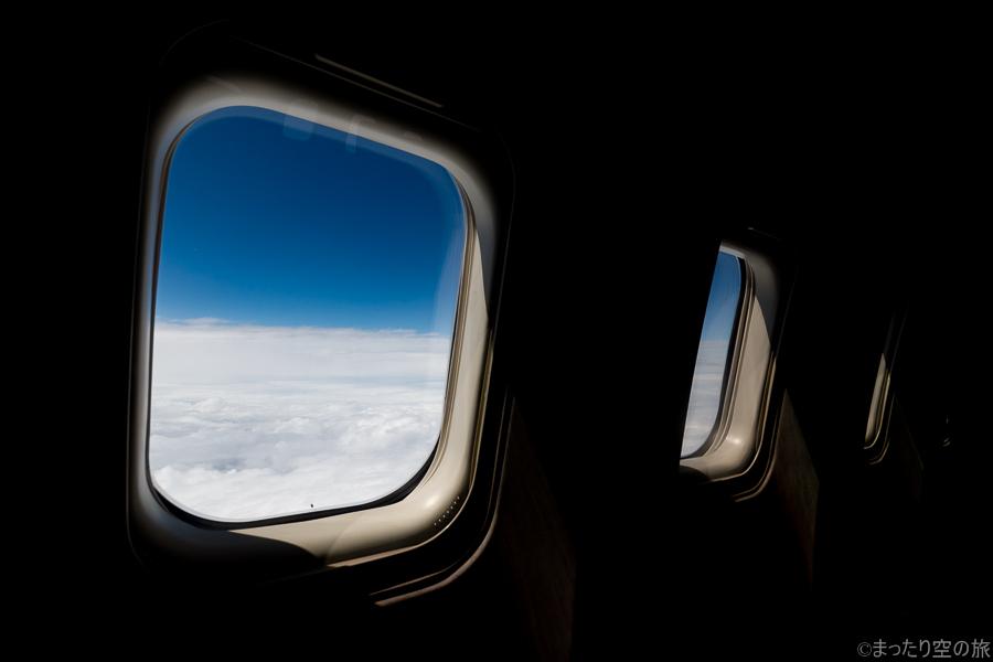 水平飛行時の様子