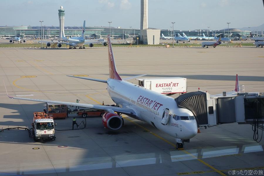 今回の搭乗機のB737-800型機
