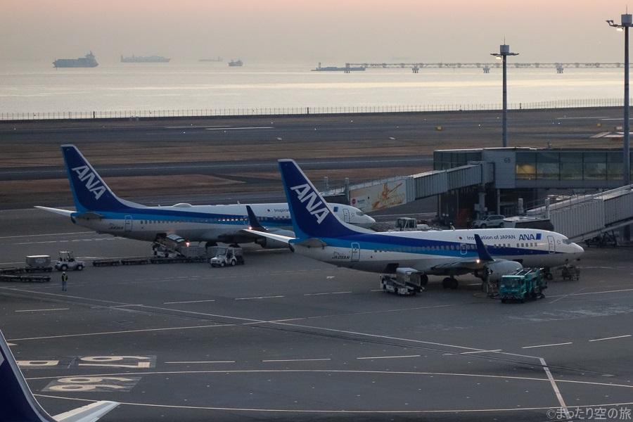 今回の搭乗機のANAのB737-700(JA05AN)