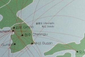 独島表記の地図
