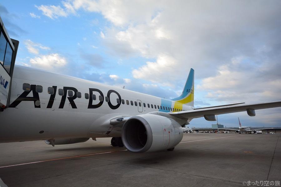 今回の搭乗機のB737-700(JA11AN)