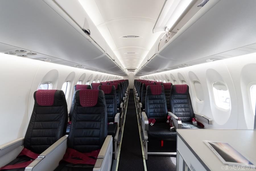 Q400CCの機内全景