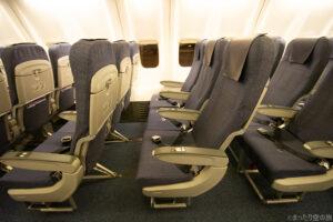 ANAのB737-800型機の座席