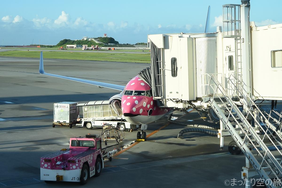 今回の搭乗機のB737-800(JA06RK)