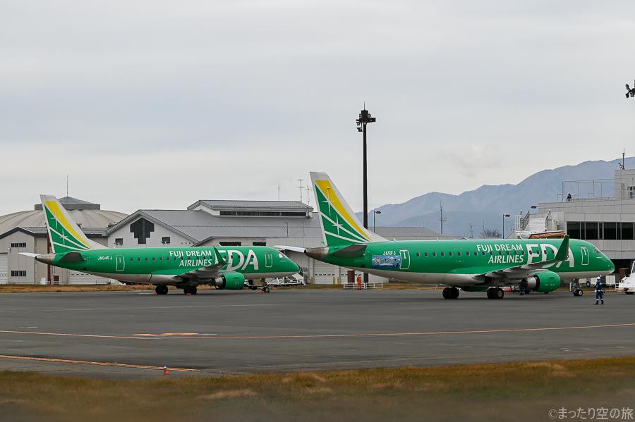 FDAの保有するE170型機とE175型機