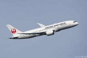 JALの国内線用B787-8型機