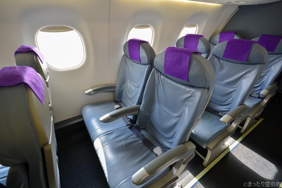 E170・E175型機の普通席