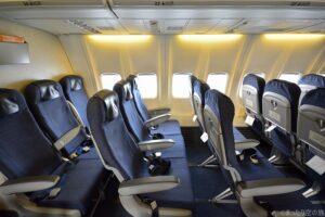 エアドゥのB737-700型機の座席