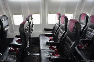 B737の普通席
