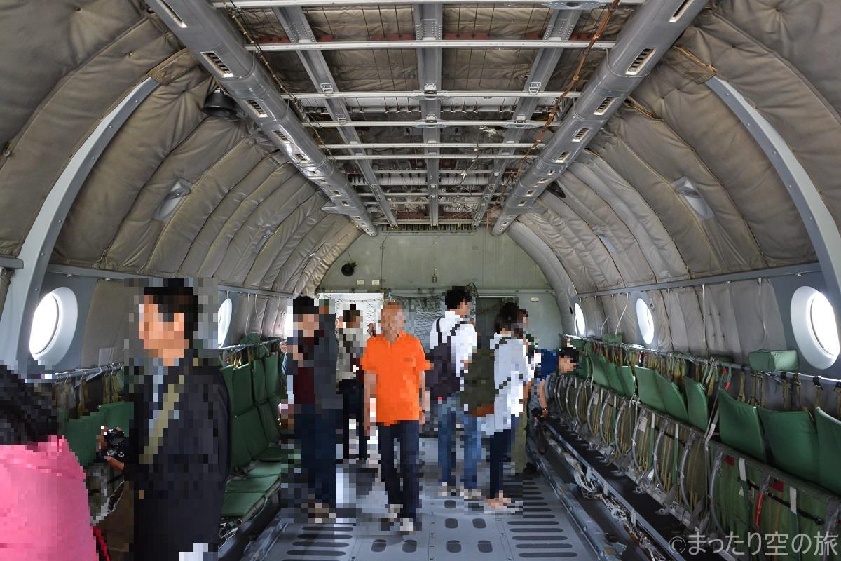 C-1の機内の様子
