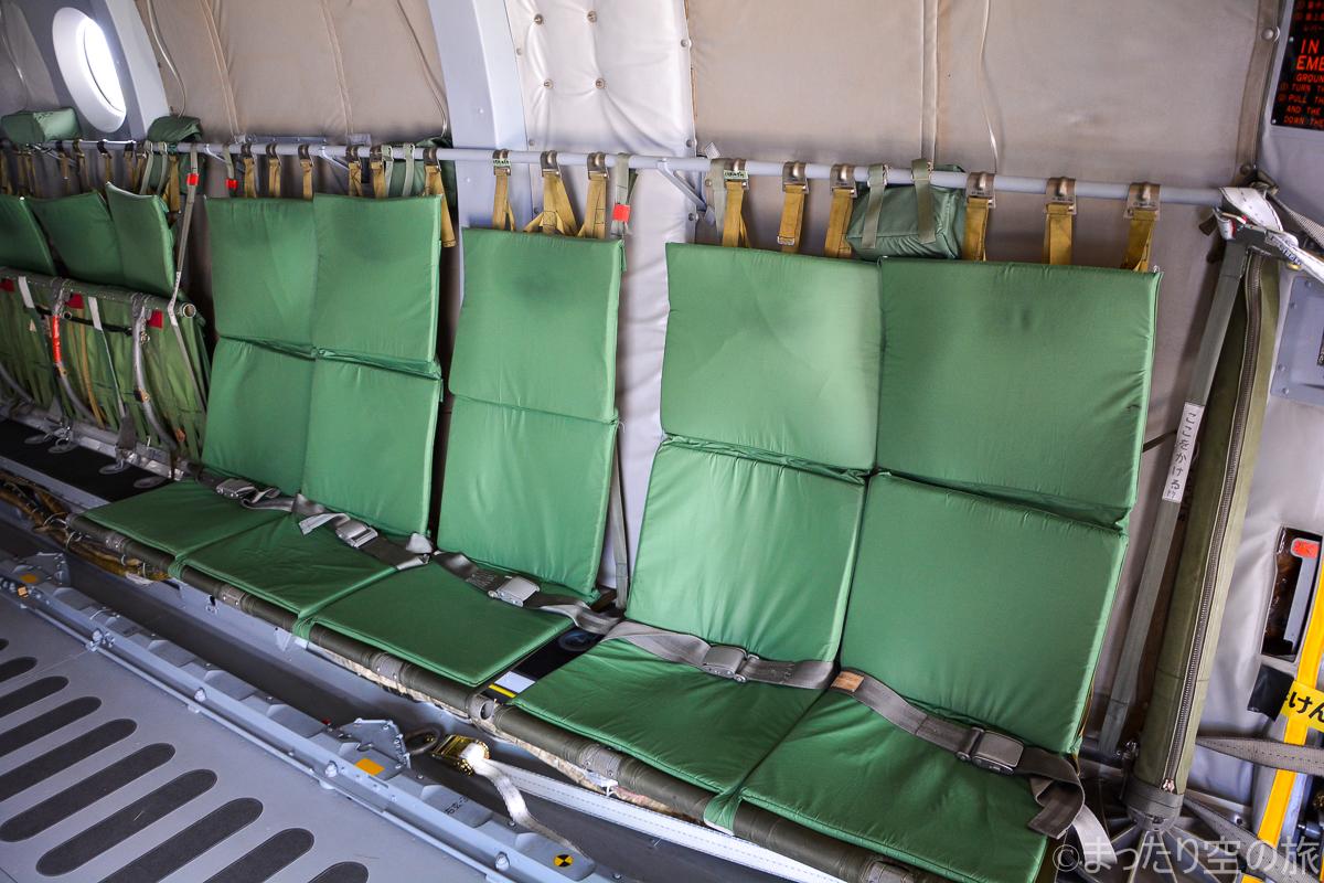 C-1の座席