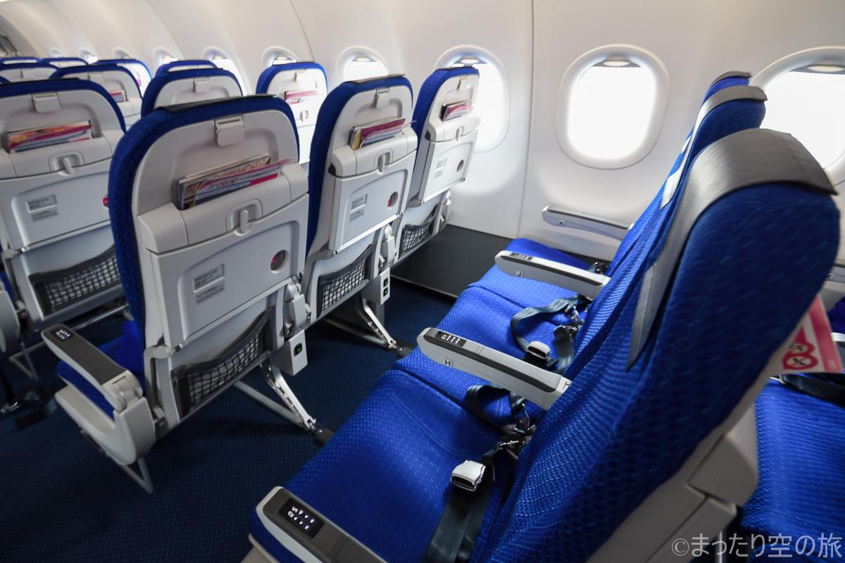 A321ceoの普通席