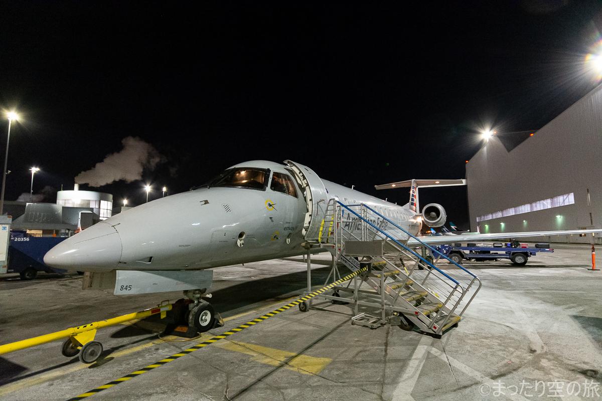 今回の搭乗記のERJ140