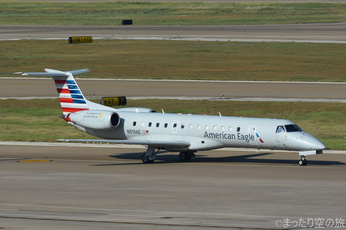 アメリカンイーグルのERJ140型機