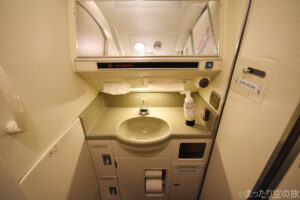 トイレ内部の洗面台