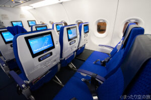 A321neoの普通席