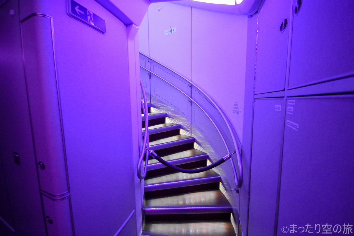 2階席への階段