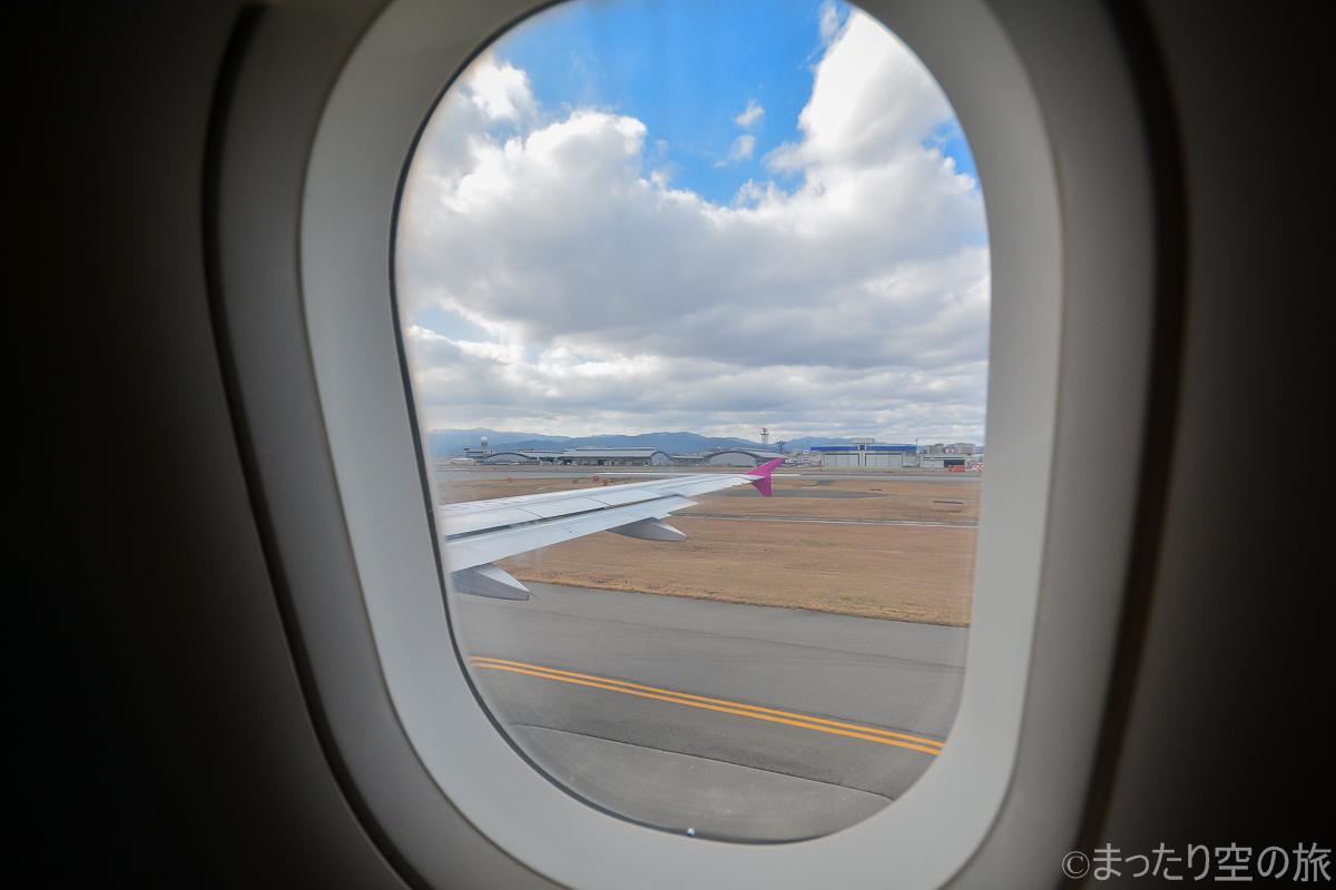 窓枠と外の景色のコラボ