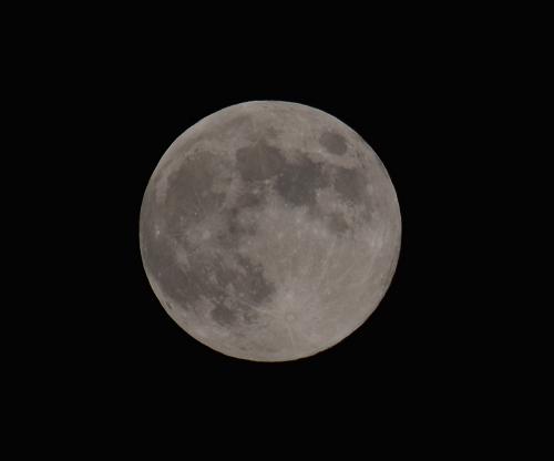 一眼レフにて撮影した中秋の名月