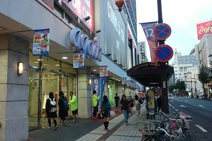 アニメイト長野オープン当日のagainの様子