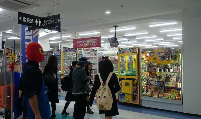 カードラボC-labo長野店の様子