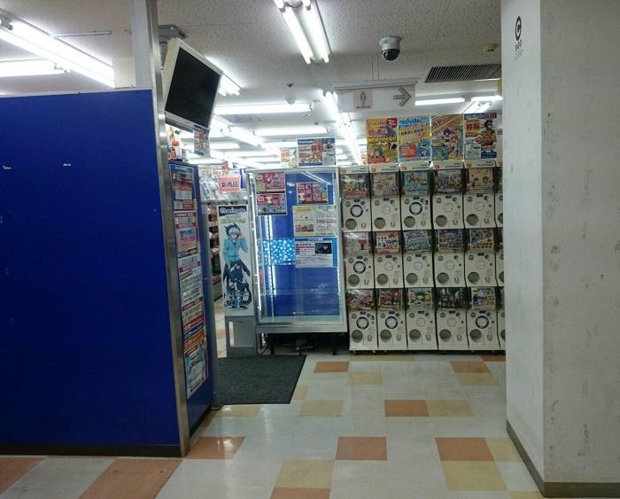 アニメイト旧長野店の様子