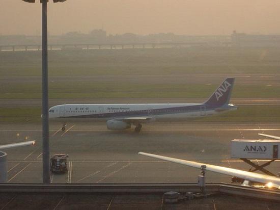 ANAのA321型機(2006年羽田空港にて)