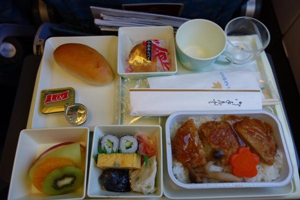 ベトナム航空の和食のエコノミー機内食
