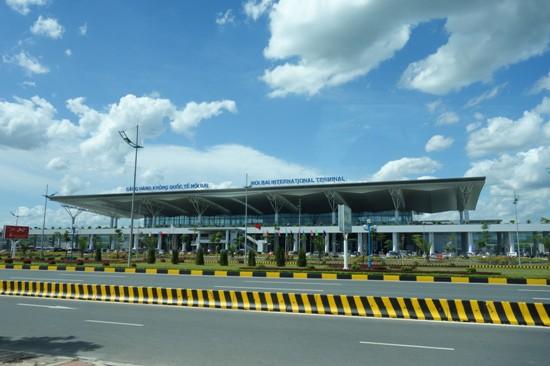 日本のODAによって建設されたノイバイ国際空港