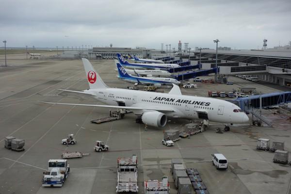 今回の搭乗機のJALのB787-8(JA838J)