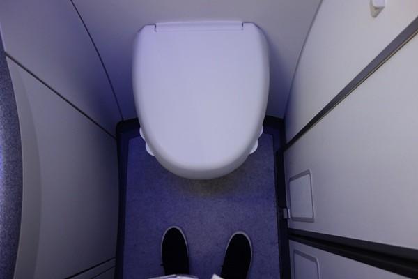 B787型機のトイレ