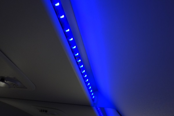 トイレ内のLED照明