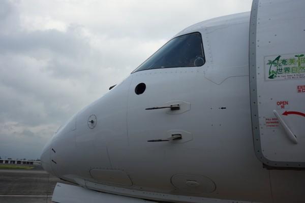 SAAB340Bの機首部分