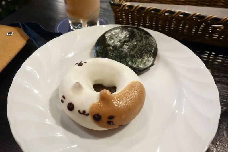 甘い&しょっぱいセットのドーナツ
