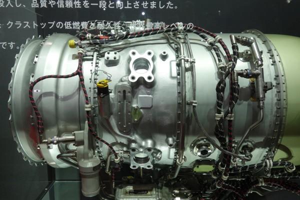 ホンダジェットに装備されているジェットエンジン