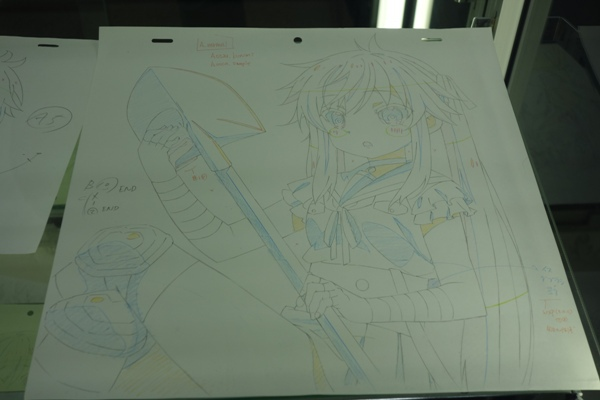 がっこうぐらしのアニメの原画