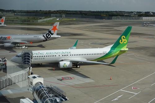 春秋航空日本のB737-800型機