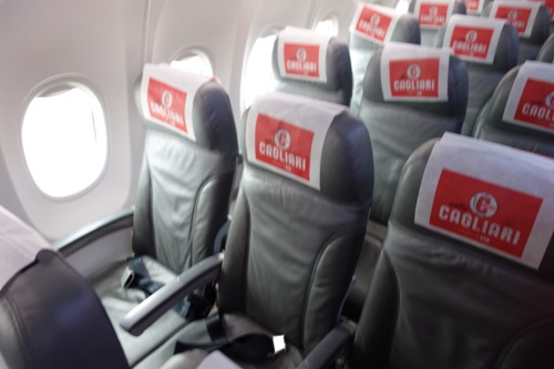 春秋航空日本のB737-800型機の座席