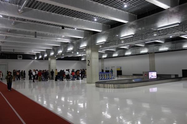 第3ターミナルビルの手荷物受取場