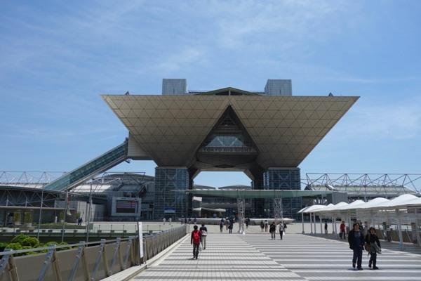 東京ビッグサイト全体像